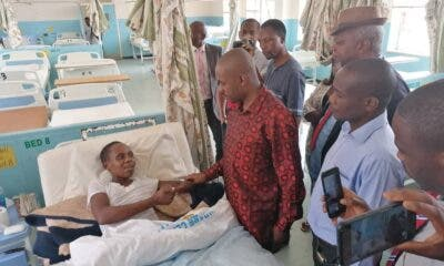Chamisa in hospital