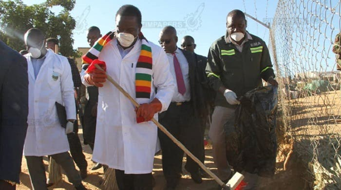 Image result for chamisa clean up campaign