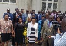 MDC MPs walk out of Parliament