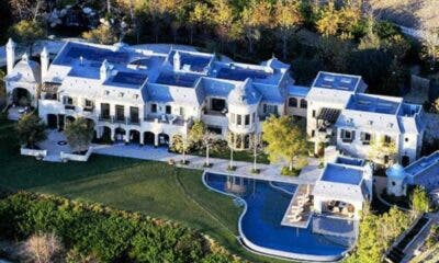 Mugabe Blue Roof Mansion