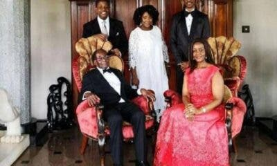 Robert Mugabe and family