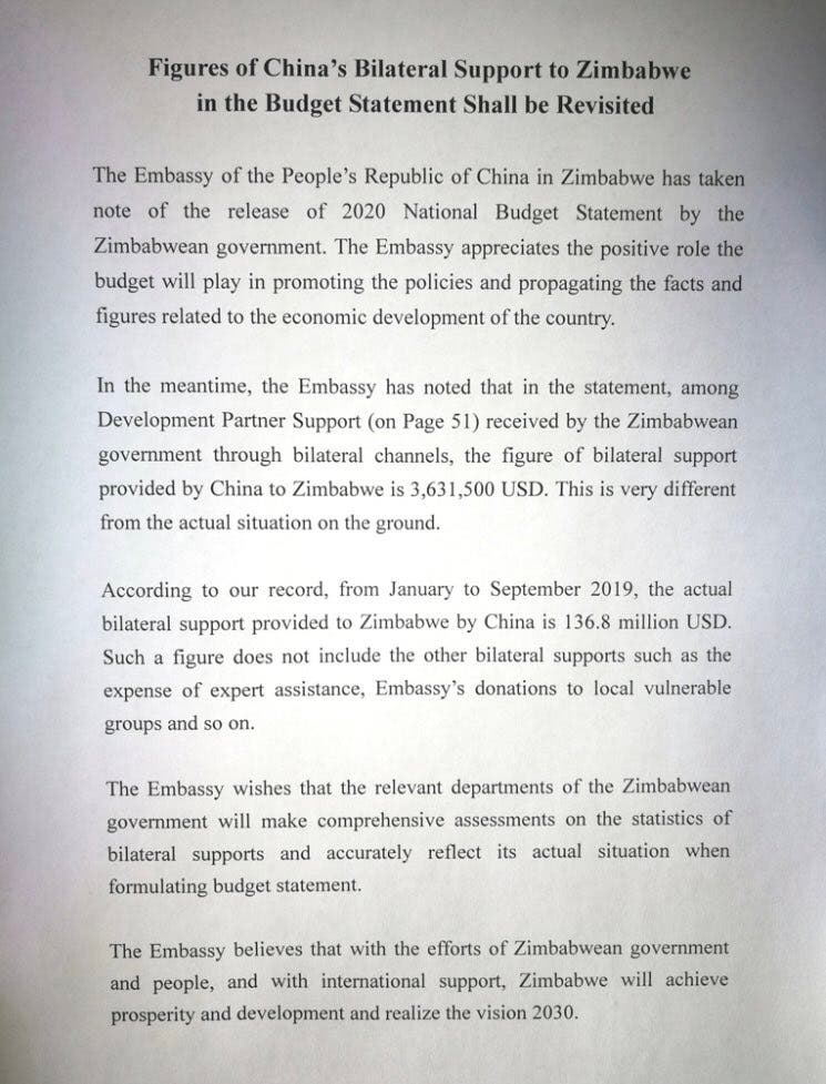 Chinese-Embassy letter