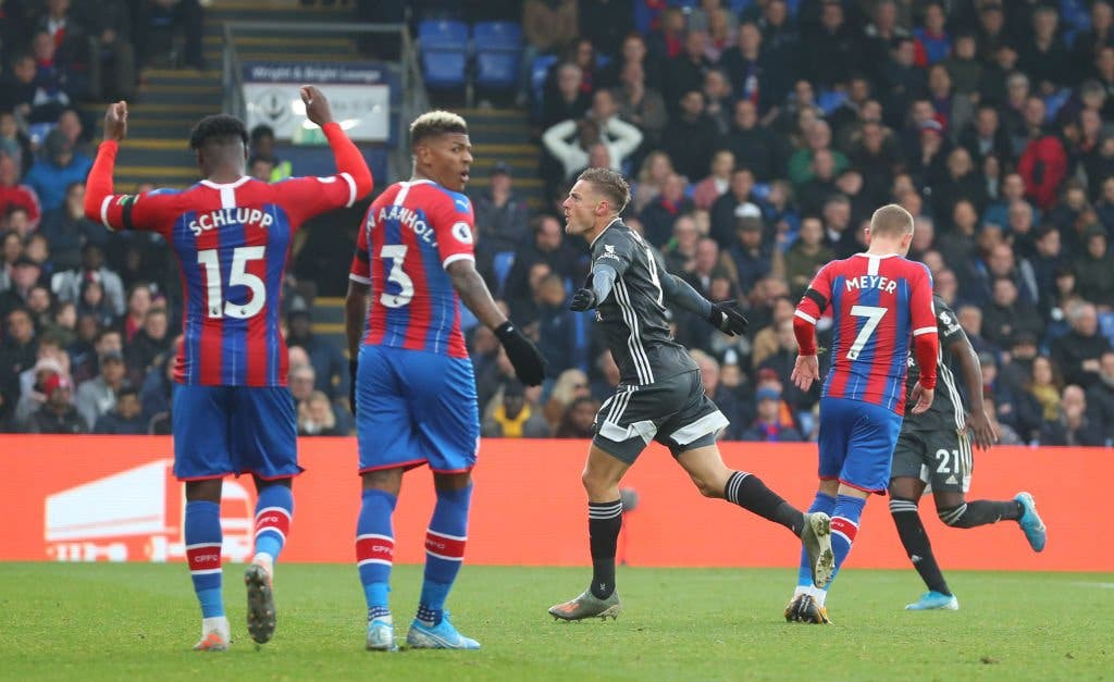 Crystal Palace 0 -2 Leicester