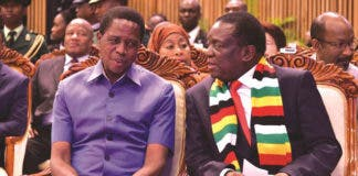President Mnangagwa and Lunga