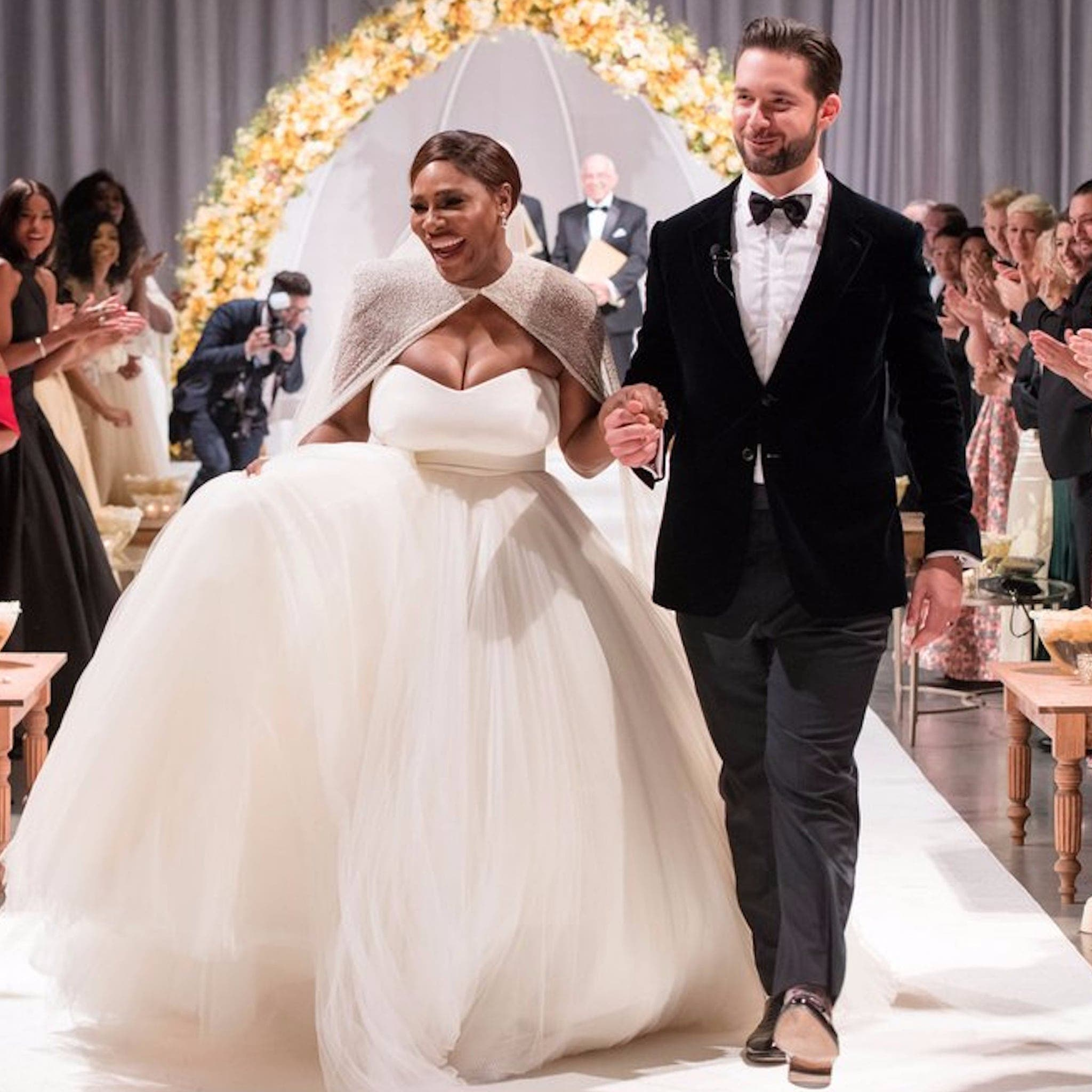Serena Williams And Alexis Ohanian Celebrate Their Second