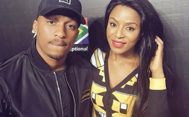TK Dlamini and Jessica Nkosi