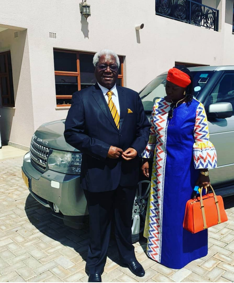 Chombo and wife