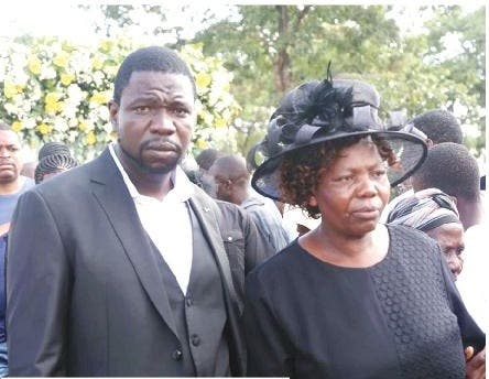 Prophet magaya and his mother