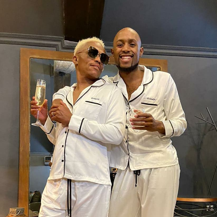 Somizi and Mohale'