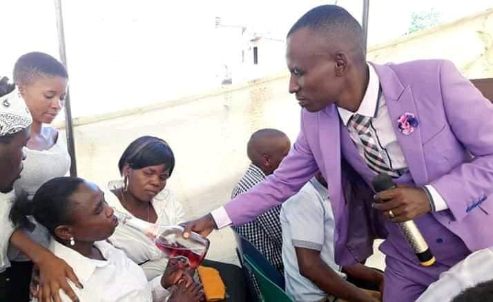 Pastor heals with Beer and Meat