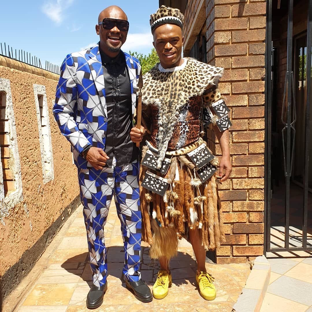 Somizi and TT Mbha