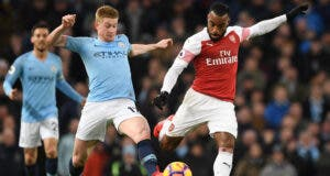 Manchester City v Arsenal FC - Premier League