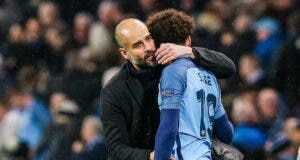 Leroy Sane and Pep