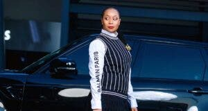 Pokello and her car