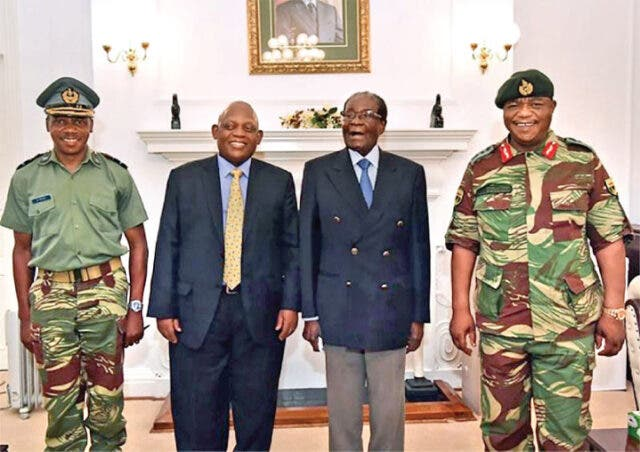 Mugabe and Chiwenga