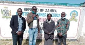 Kafue youths in Zambia take COVID-19 personal